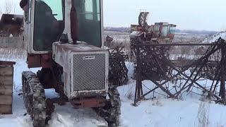 Последний ДРИФТ трактора КТЗ Т-70С в его жизни.The last DRIFT tractor GTC T-70C in his life