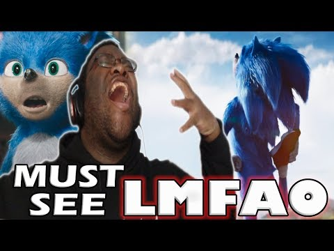 I NEED TO SEE THIS MOVIE LMFAO! Sonic The Hedgehog 2019 Official Trailer ⚡ KOL LIVE REACTION
