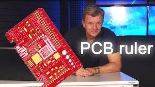 Карточка радиоконструктора. PCB Ruler