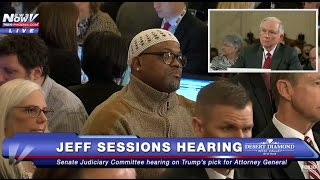 WATCH: Alton Mills in Attendance as Jeff Sessions Asked About Mandatory Minimum Sentences - FNN