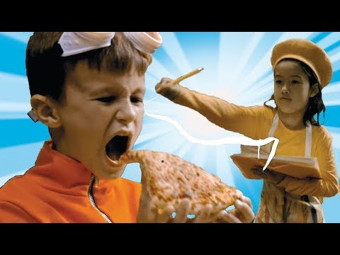NEW Superzuzaa ⚡ Pizza Battle ⚡Superheroes in Real Life