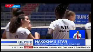 Former Kenya's volleyball attacker, Gaudencia Makokha on her new club