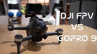 DJI FPV vs GOPRO 9!!! ( HyperSmooth/ReelSteady GO)