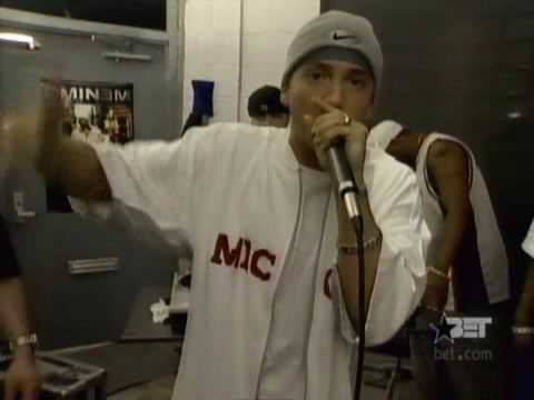 D12 freestyle at eminems basement 2002
