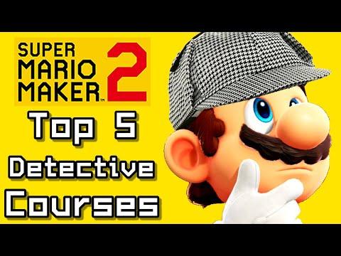 Super Mario Maker 2 Top 5 DETECTIVE Courses (Switch