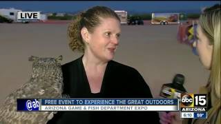 Explore the outdoors with the Arizona Game & Fish Department