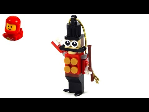 Vidéo LEGO Saisonnier 5004420 : Décoration de petit soldat