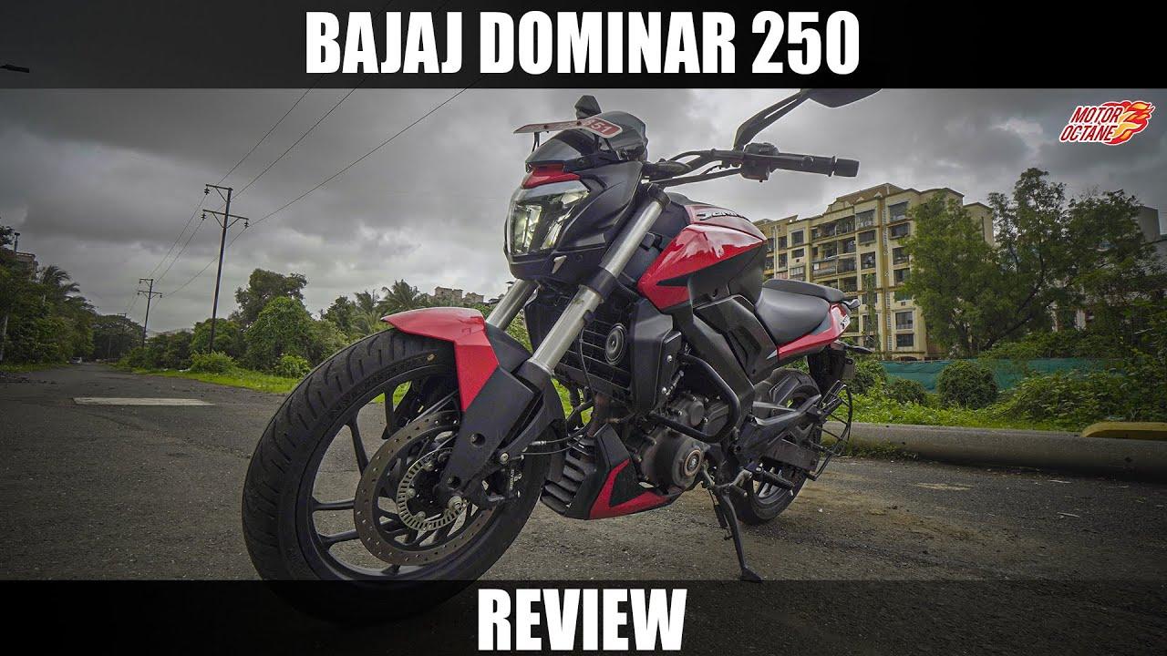 Motoroctane Youtube Video - Bajaj Dominar 250 Review   Hindi   MotorOctane