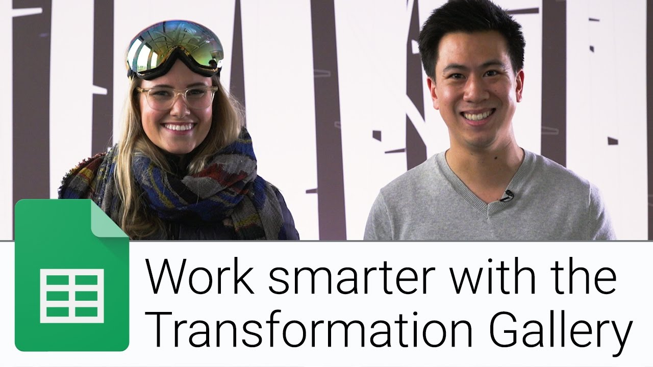 Managing PTO with the Transformation Gallery | The G Suite Show