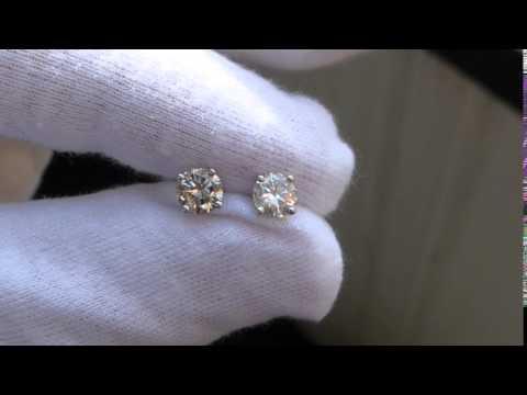 Diamant Ohrstecker 1.05ct.
