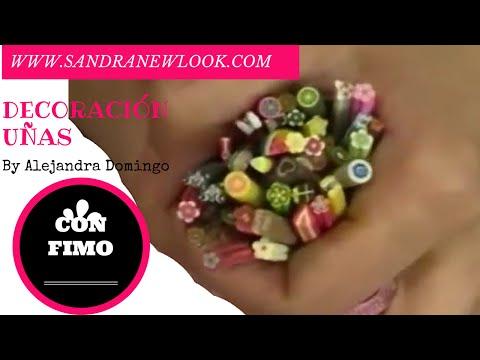 Decoración de uñas con fimo | Sandranewlook