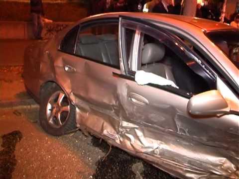 В Киеве на Соломенке в тройной аварии пострадал водитель авто
