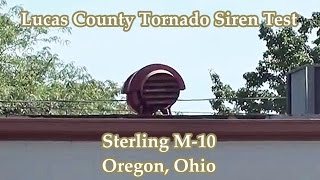 preview picture of video 'Oregon, OH Sterling M-10 Siren Test 9-6-13'