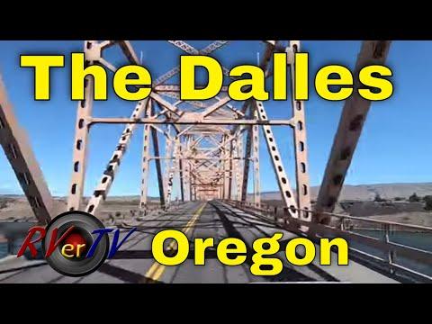The Dalles Oregon - Bridge - Columbia River Dam