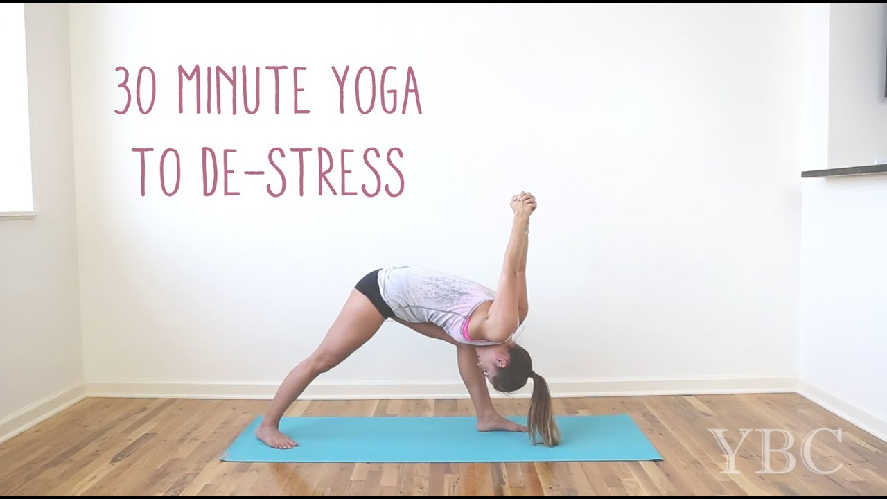 30 Minute Yoga to De-stress