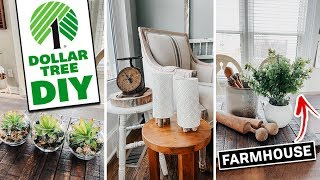 Dollar Tree DIY -Crate And Barrel Inspired - Farmhouse Spring Decor 2020
