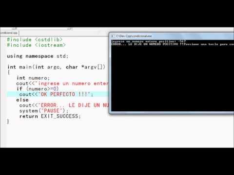 Estructuras Condicionales En C Introducción Al Lenguaje