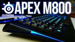 Steelseries Apex M800 Review - RGB Mechanical Keyboard