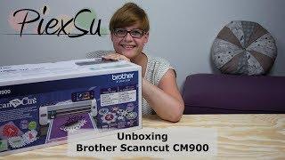 Plottanleitung - Unboxing - Plotter Brother ScannCut CM900   PiexSu