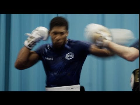 REPEAT OR REVENGE? ANTHONY JOSHUA IN CAMP AHEAD OF TRAVELLING TO SAUDI ARABIA FOR RUIZ JR REMATCH