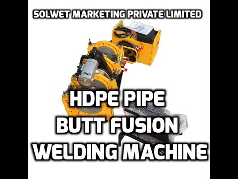 90 to 315mm HDPE Butt Fusion Welding Machine Hydraulic Semi Automatic