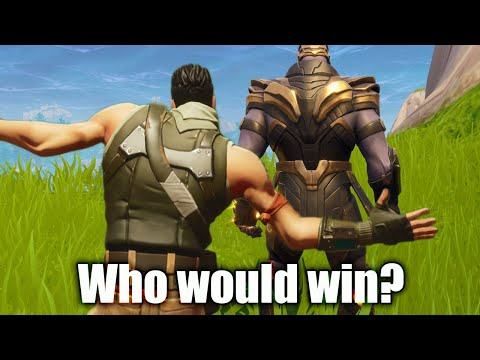 Thanos Vs One Defaulty Boi (Who would Win?)