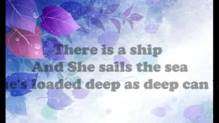 The Water Is Wide - Karaoke Lyrics |Guitar Accoustic