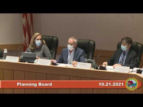 10.21.2021 Planning Board
