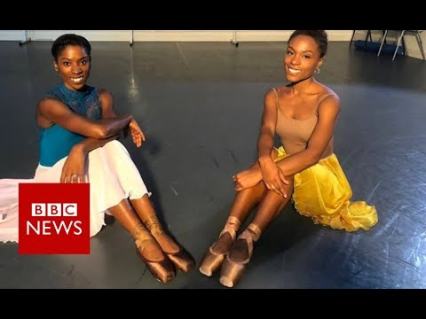 Brown ballet shoes made for first time - BBC News