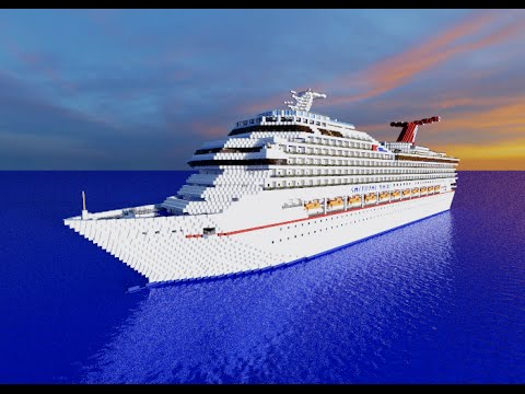Carnival Valor Full Interior Cruise Ship Minecraft Project - Valor cruise ship