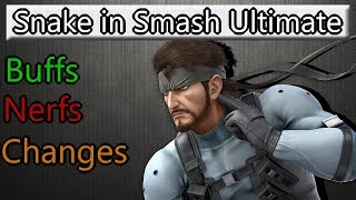 Snake in Smash Ultimate (Buffs and changes) - dooclip.me