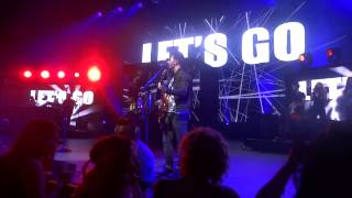 Let's Go - Jonas Brothers ft. Karmin (LIVE PHX AZ August 9th 2013)