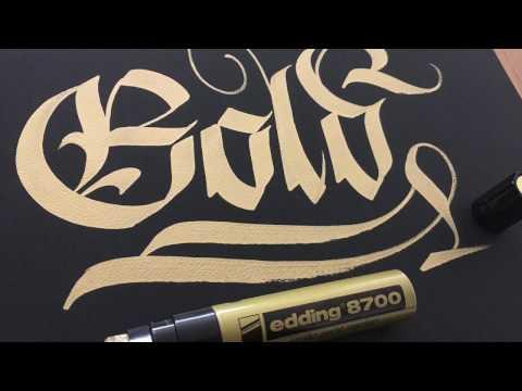 Edding 8700 & 750 Marker Review, İncelemesi   Kaligrafi, Calligraphy, Graffiti, Calligraffiti