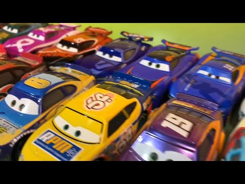 Old VS New Piston Cup Racers Next Generation Diecast Disney Cars 3 Toys