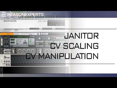 Janitor CV Scaling and Manipulation <br/> ReasonExperts