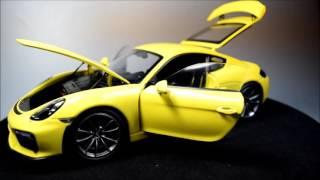 Schuco Porsche Cayman GT4 (981)