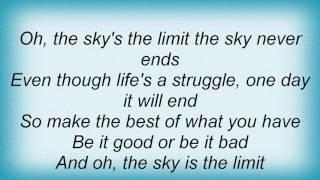 Adam Gregory - The Sky Is The Limit Lyrics