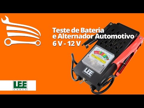 Teste de Bateria e Alternador Automotivo de 6 V - 12 V - Video