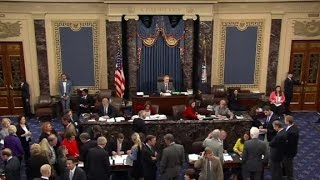 Senate votes on gun control measures