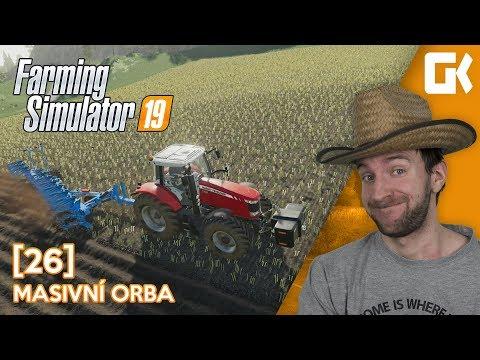 MASIVNÍ ORBA!   Farming Simulator 19 #26