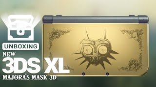 Unboxing : New 3DS XL Majora's Mask