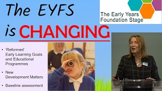 Nancy Stewart On Changes To The EYFS In 2020