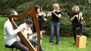"Traditional Irish Music by ""The Ghillie's"" danse Kesh jig , Eddy kelly (jig) et Drowsy Maggie ."
