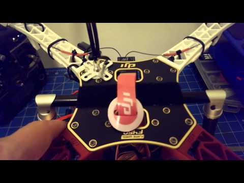 DJI F450 Build - Gimbal Mounting and Battery Details