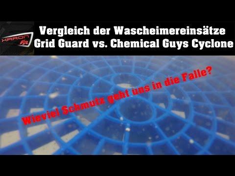 Chemical Guys Cyclone Dirt Trap vs. Grit Guard - Schmutzfallen im Vergleich