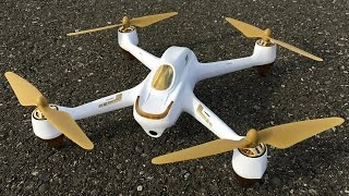 Maiden Flight & Camera Test - Hubsan H501S X4 GPS FPV Drone With 1080p HD Camera