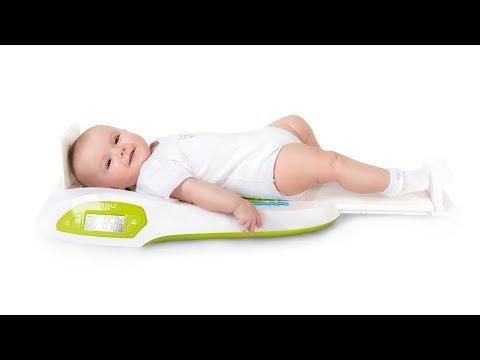 Elektronische Babywaage (mit Stadiometer) AGU - Wally