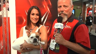 WWE Brie Bella Celebrity Interview