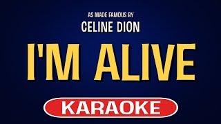 I'm Alive (Karaoke)   Celine Dion