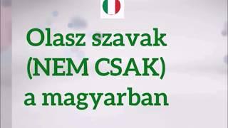 Olasz szavak (NEM CSAK) a magyarban: PIZZA
